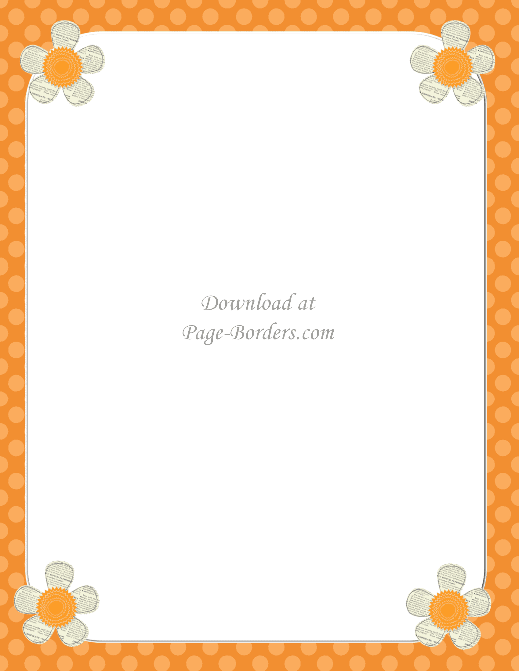 clip art border with flowers