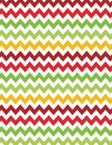 Christmas chevron background