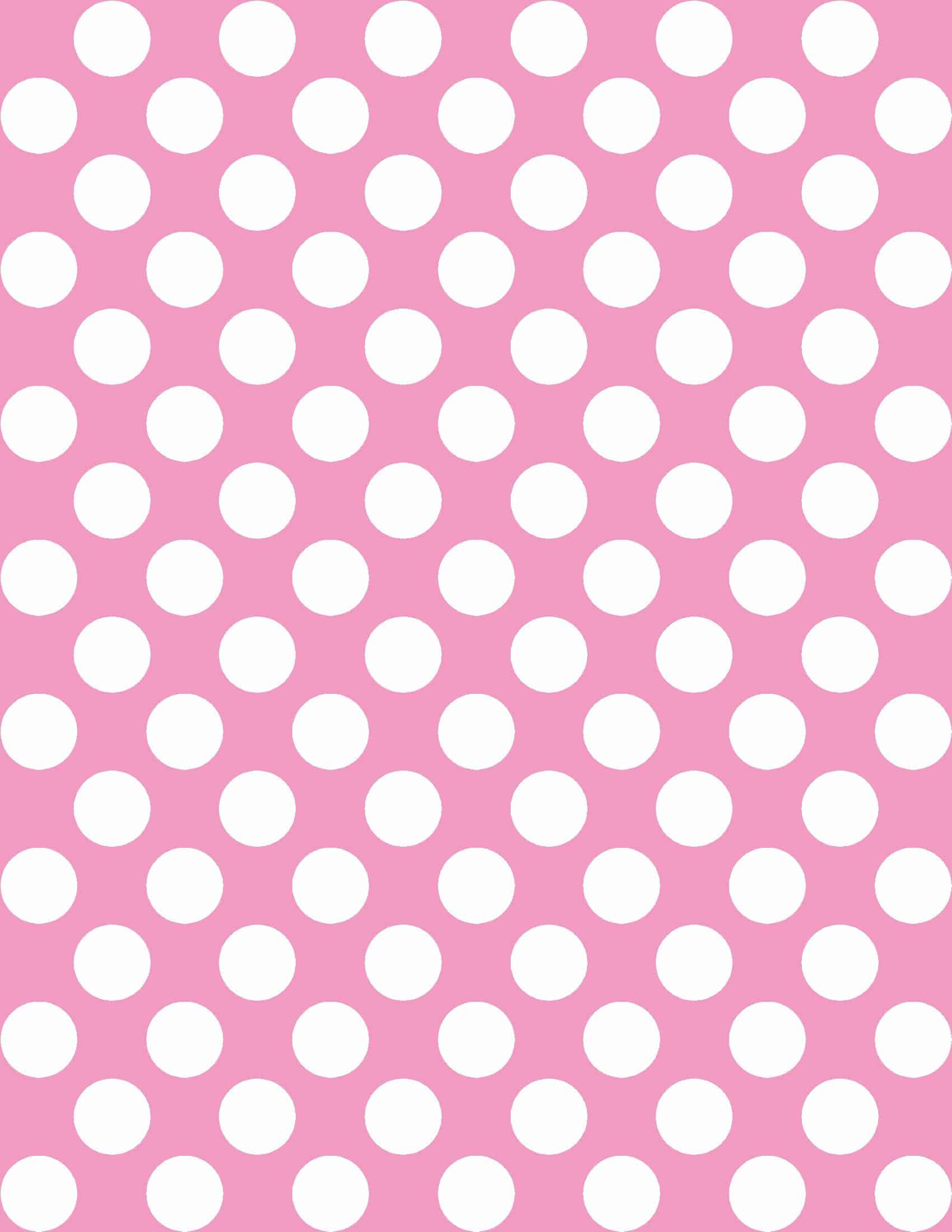 Free Polka Dot Background In Any Color Instant Download