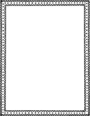 hand drawn border design