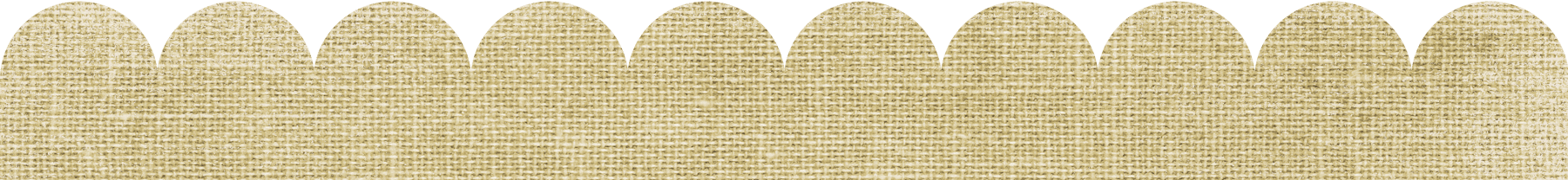 Gold Burlap Scalloped Border on scalloped page border