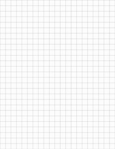 Free Printable Graph Paper Template | Instant Download